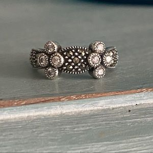Judith Jack 925 Sterling Silver Ring Size 5.75